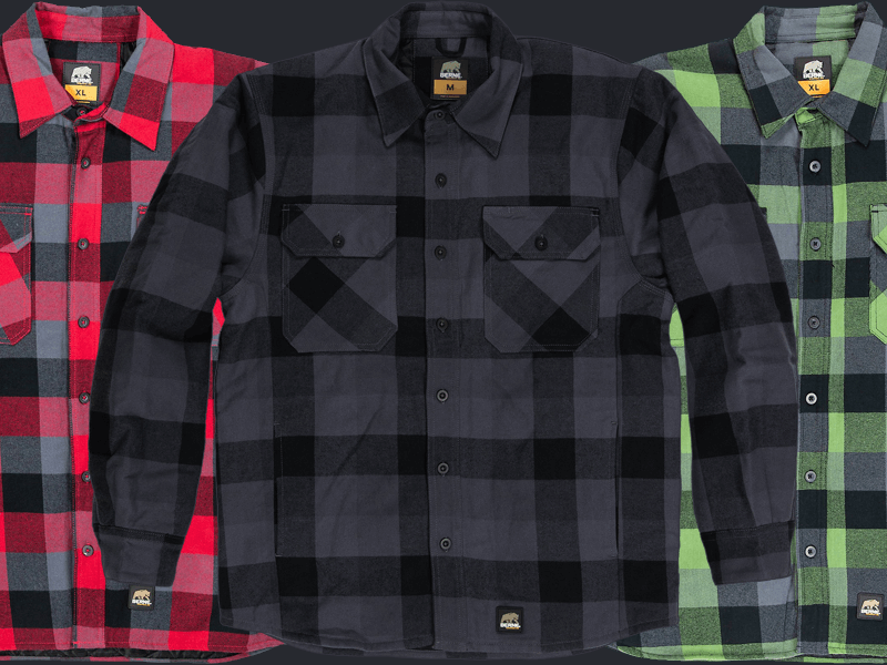 BERNE Flannel Shirts