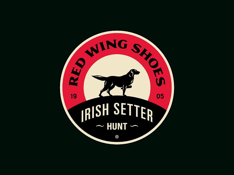 Red Wing Shoes Irish Setter Logo