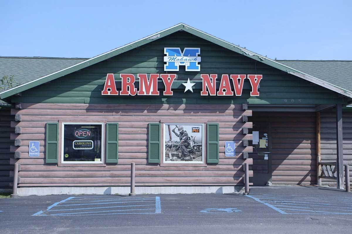 Mohawk Army Navy Latham Store