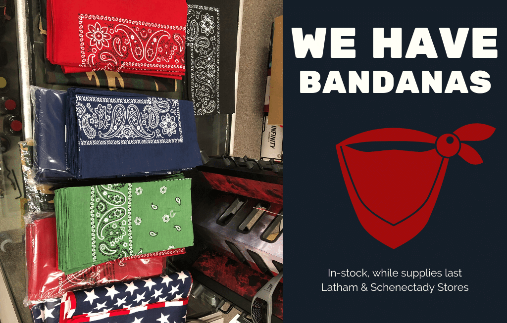 bandanas selection for face masks on sale at mohawk army navy
