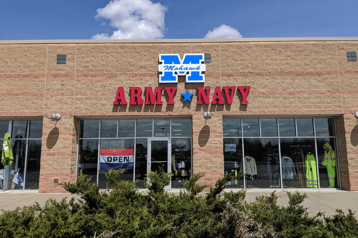 Mohawk Army Navy Saratoga Store at Shops of Wilton